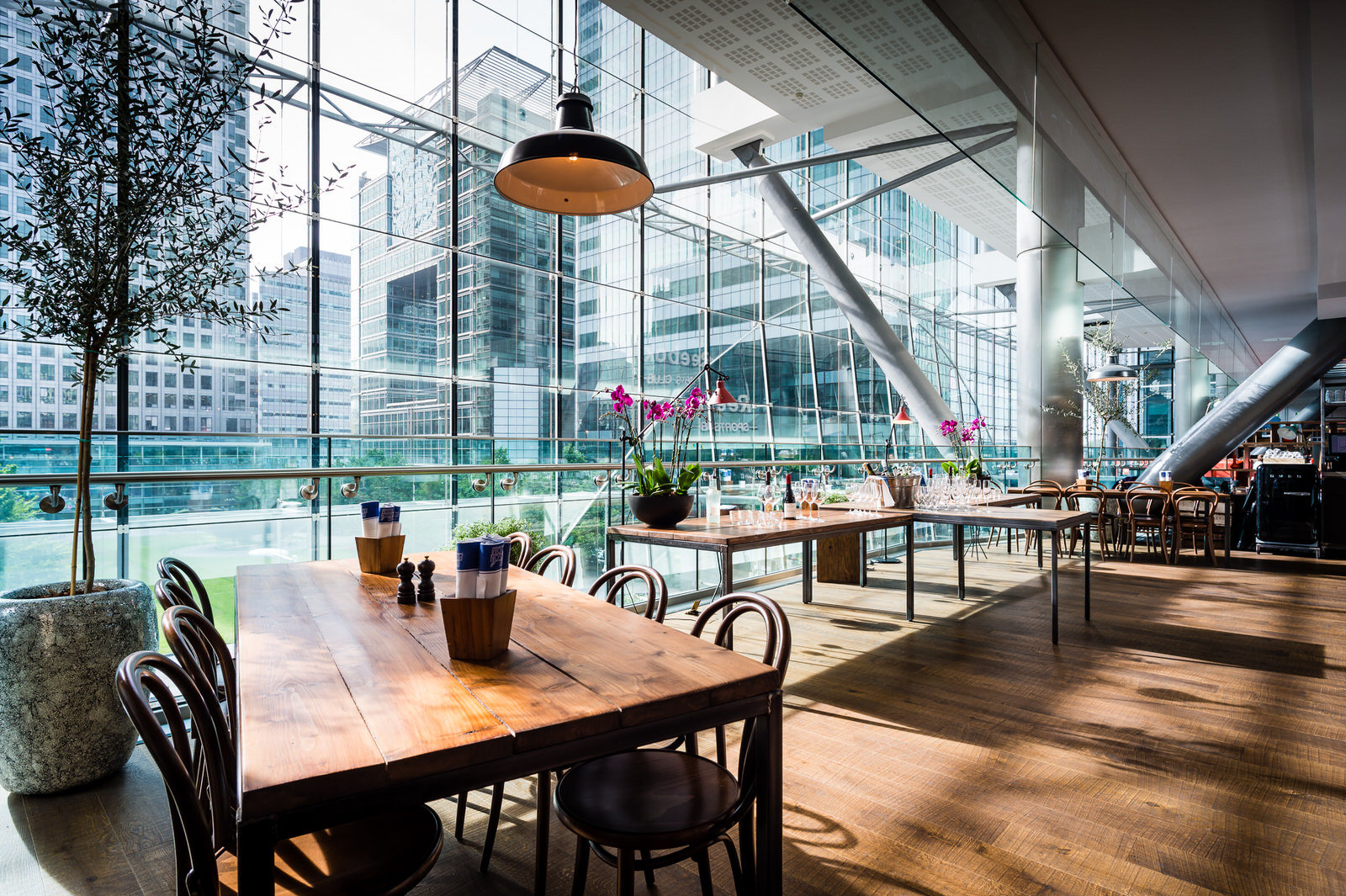 The Pearson Room Canary Wharf London